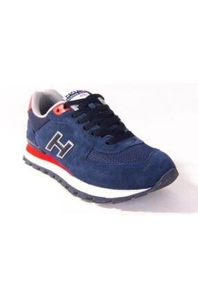 Hammer Jack 10219250 Indıgo Kırmızı Günlük Unısex Deri Spor Ayakkabı