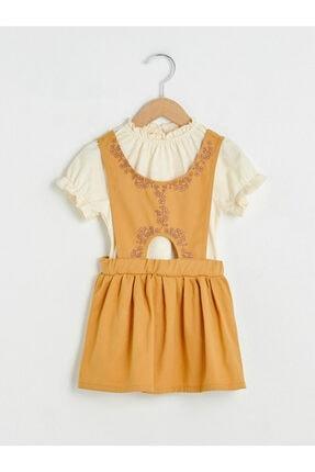 LC Waikiki Kız Çocuk Koyu Sarı Takım