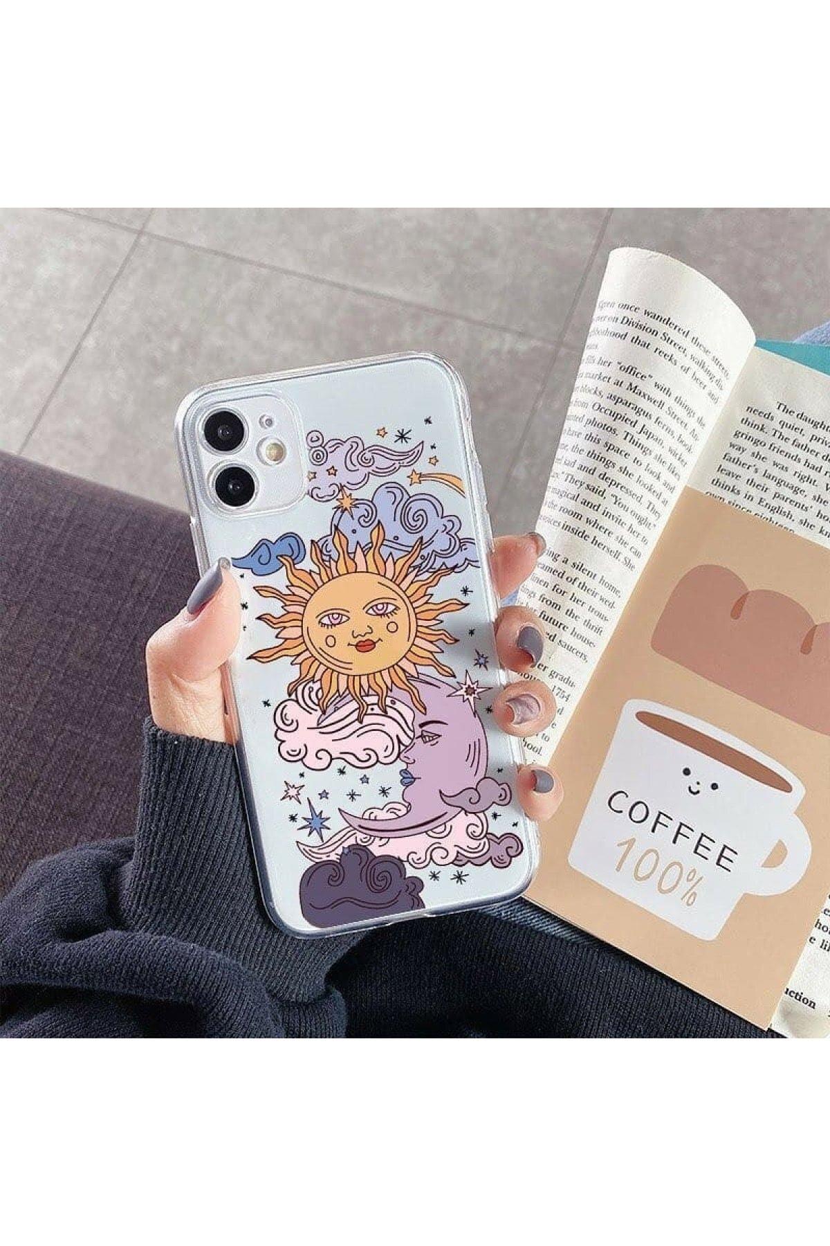 mooodcase Iphone 11 Güneş Ve Ay Tasarımlı Telefon Kılıfı 1