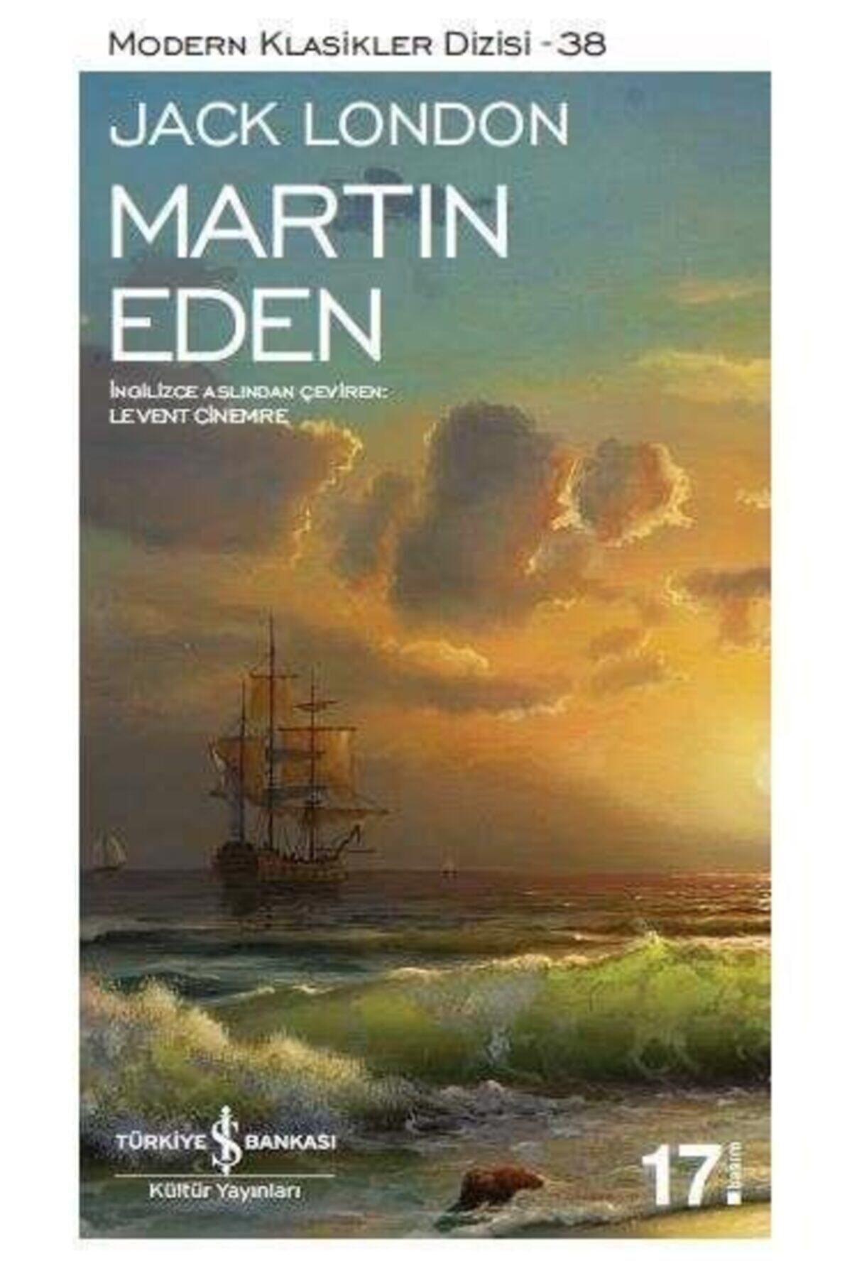 İş Bankası Kültür Yayınları Martin Eden Modern Klasikler Dizisi Jack London 1