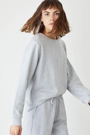 DeFacto Basic Relax Fit Sweatshirt