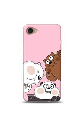 Ren Geyik Lg Q6 Uyumlu Panda Tasarımlı Telefon Kılıfı Y-pnd008