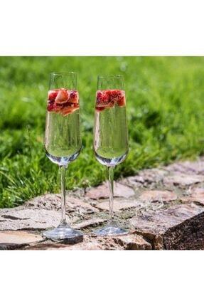 Crystalin Sandra Ch.flute 200 ml 6'lı Şampanya Kadehi