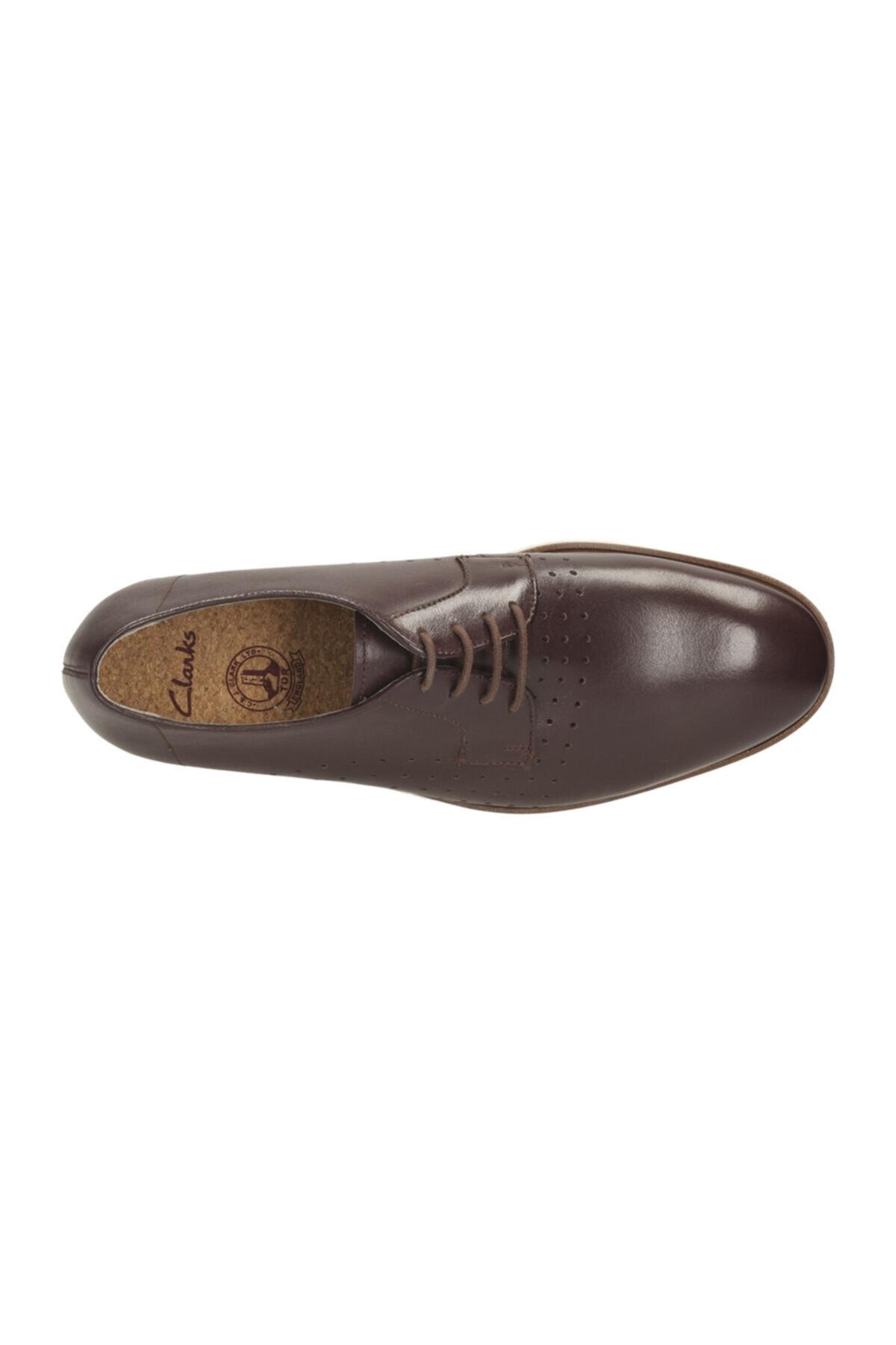 CLARKS Hakiki Deri Kahverengi Erkek Ayakkabı 261142697 2