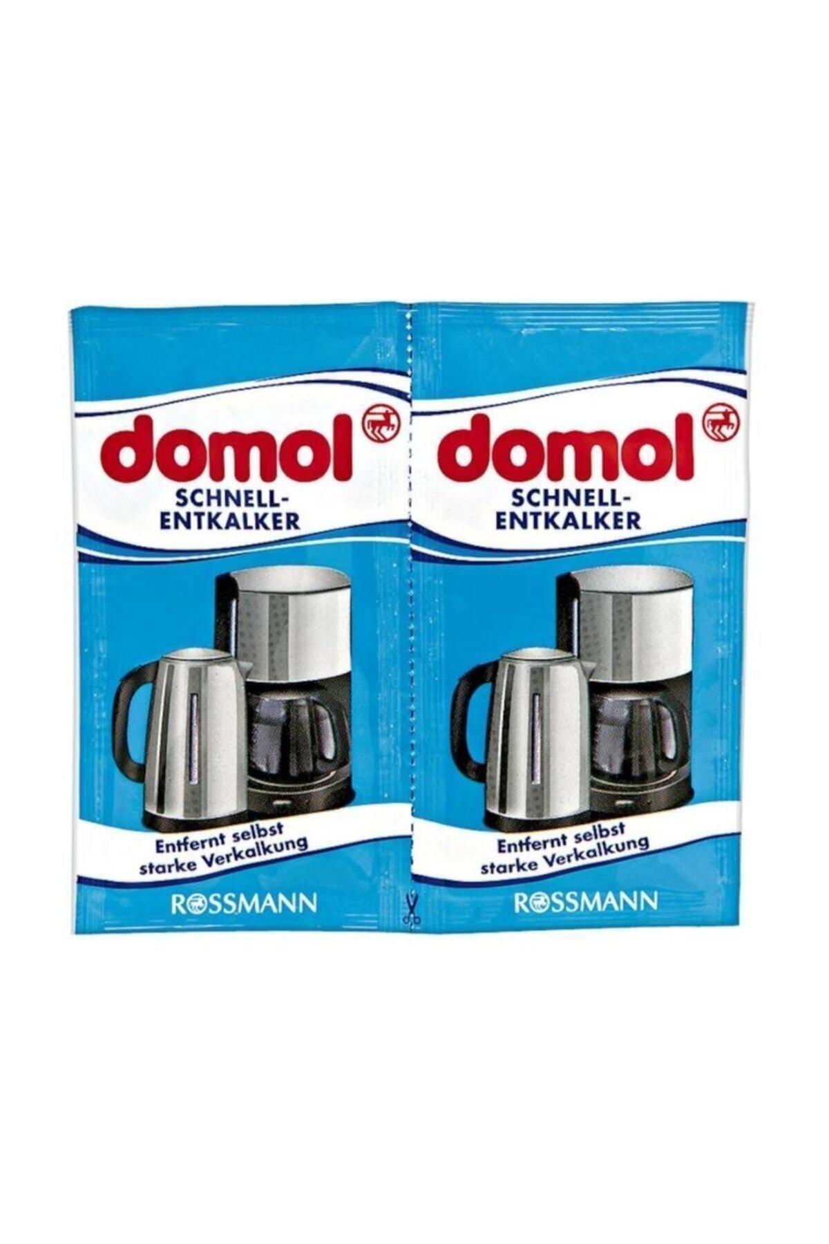 DOMOL Kettle Kahve Makinesi Kireç Çözücü Toz 2'li Paket 1