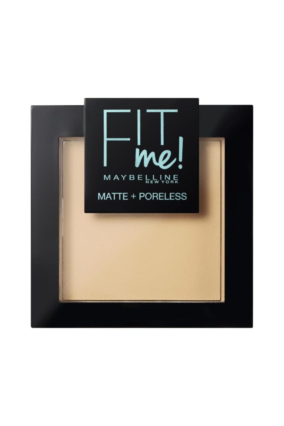 Maybelline New York Fit Me Matte+poreless Pudra - 110 Porcelain 1