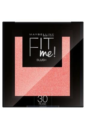 Maybelline New York Allık - Fit Me Blush 30 Rose 3600531537500