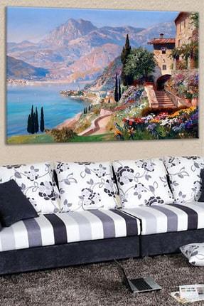 Talya Tablo Manzara Kanvas Tablo Salon Koridor Ofis Ve Yatak Odası Ideal