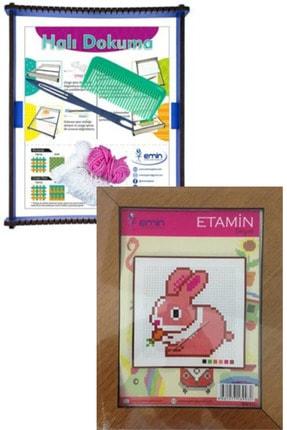 Oyun ve Sanat Halı Dokuma Tezgahı, Etamin Kiti (seti) - Çocuk Elişi Paketi