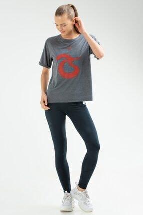 Trabzonspor Göğüs Logolu İçi Sloganlı T-Shirt