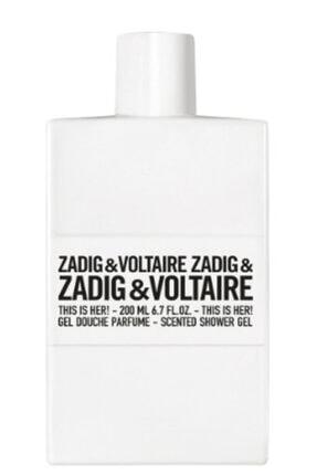 Zadig&Voltaire This Is Her! 200 Ml Kadın Parfüm Duş Jeli