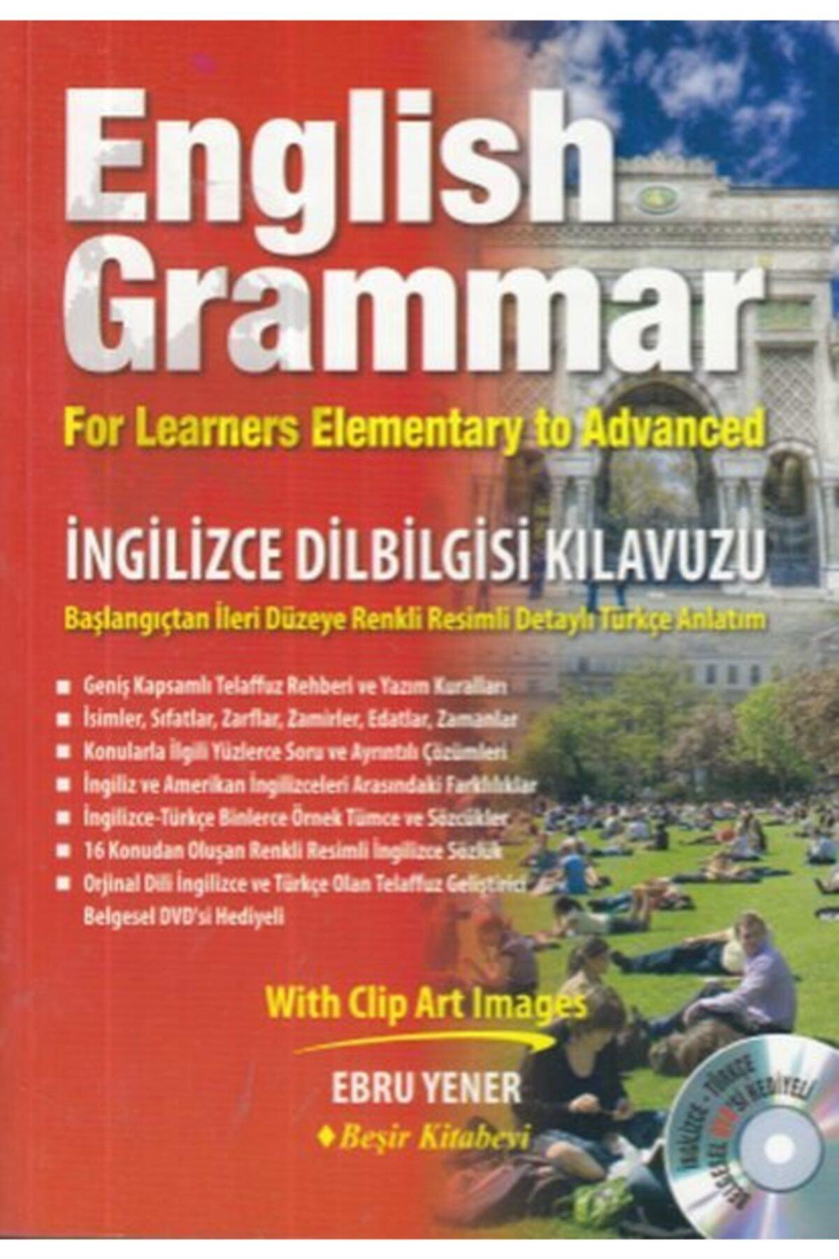 Beşir Kitabevi English Grammar Ingilizce Dilbilgisi Kılavuzu (CD'Lİ) 1