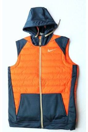 Nike Erkek Lacivert Turuncu Yelek Bv4534 458
