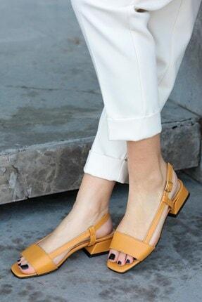 Mio Gusto Cindy Hardal Kısa Topuklu Sandalet