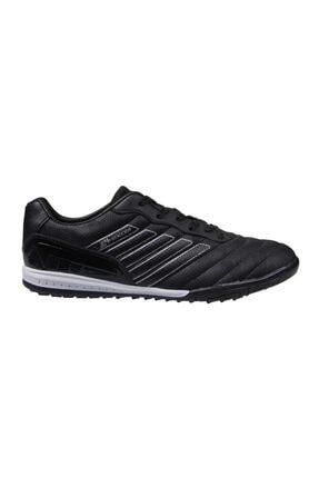 MP Unisex Çocuk Siyah Bağcıklı Halı Saha Ayakkabı 202-1510gr 100