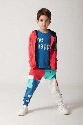 MonoKido Çocuk Patch Motto Sweatshirt