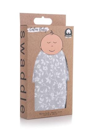 Caline Baby Müslin Bezi Örtü 120x120cm + 4 Adet Ağız Mendili