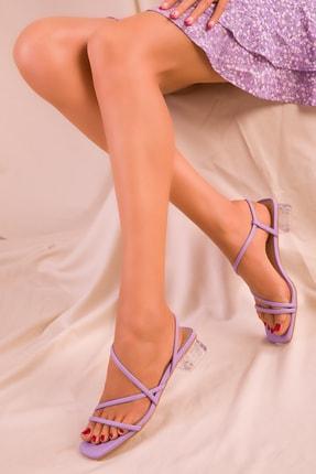SOHO Lila Kadın Klasik Topuklu Ayakkabı 15822