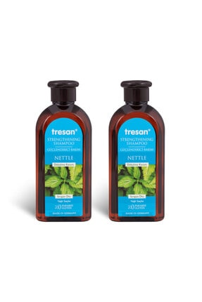 Tresan Isırgan Otu Güçlendirici Bakım Şampuanı Yağlı Saçlar 300 Ml - Yeni- 2adet