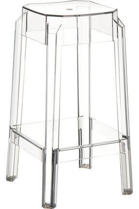 Siesta Fox Bar Taburesi 65cm Şeffaf Transparan