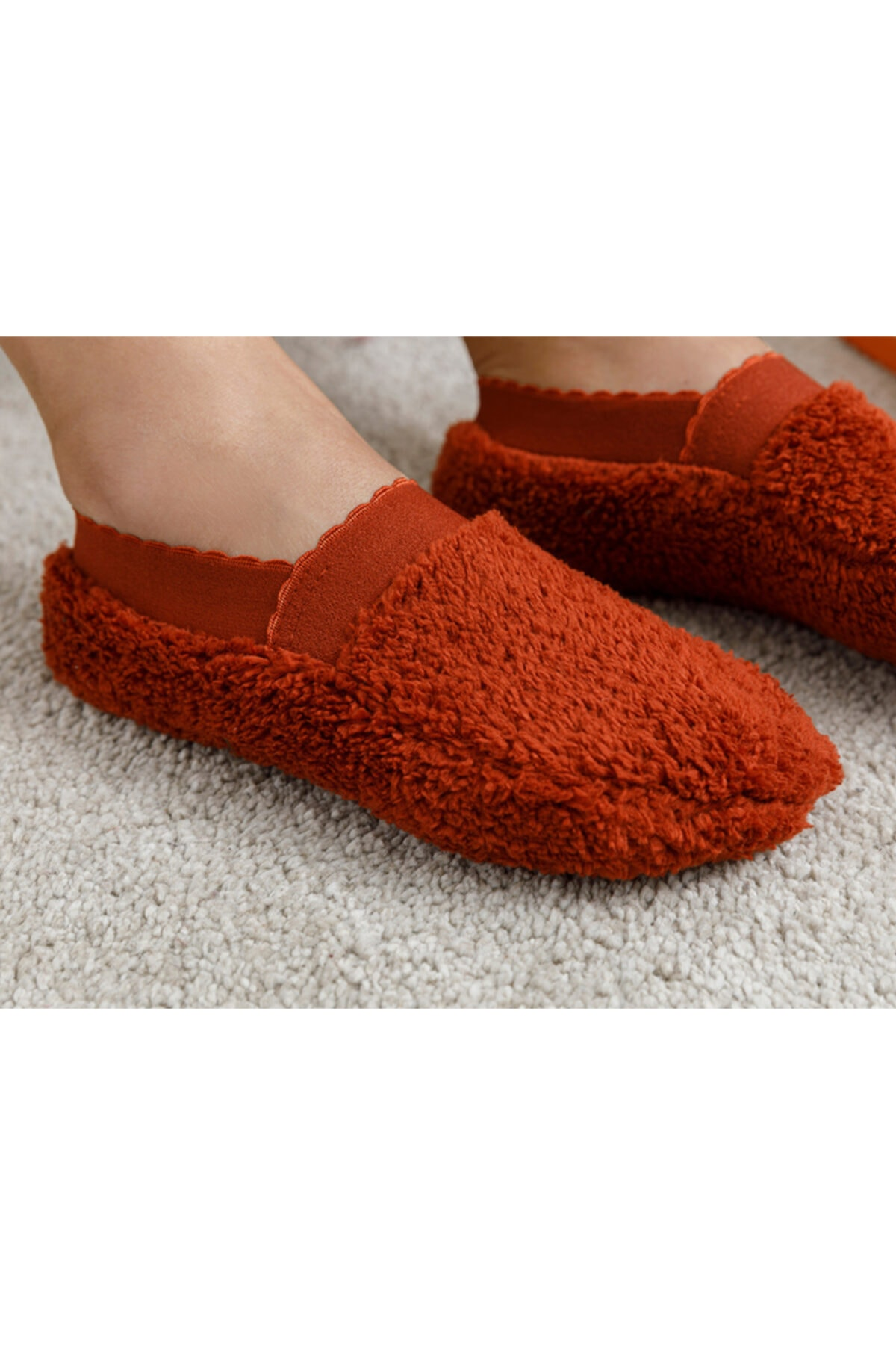 English Home New Soft Kadın Çorap Kiremit 2