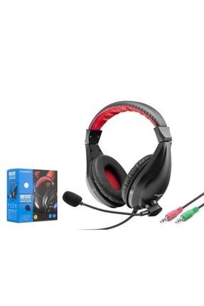 zore Bilgisayar Oyuncu Kulaklık Mikrofonlu Çift Jack Giriş Yüksek Ses ( Eba, Zoom )