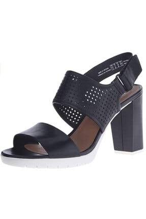 CLARKS Kadın Siyah Pastina Malory Sandalet
