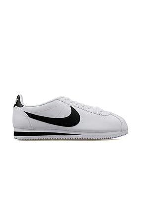 Nike Unisex Beyaz Classic Cortez Leather Ayakkabı 807471-101