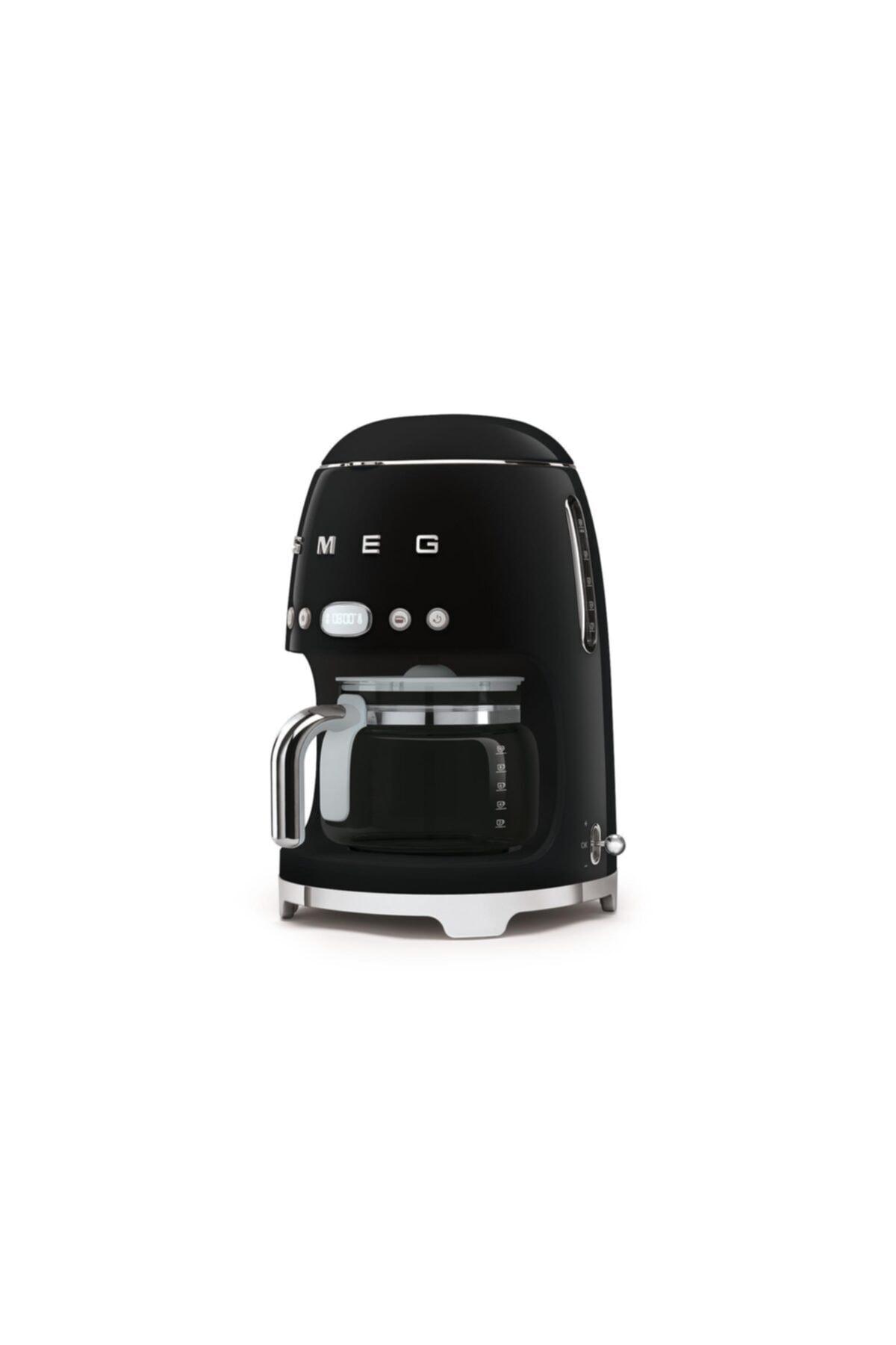 SMEG Dcf01bleu Siyah Filtre Kahve Makinası 2