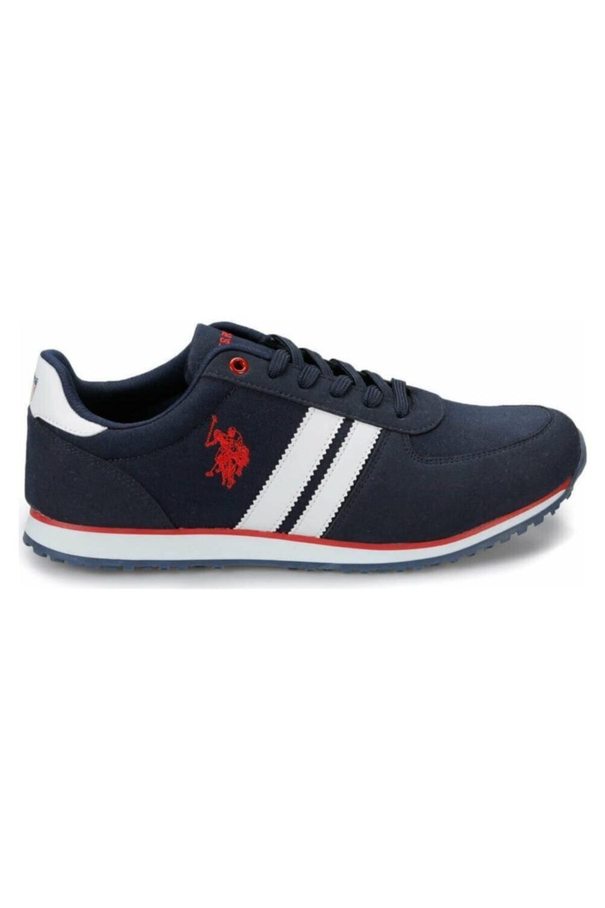 U.S. Polo Assn. PLUS 1FX Lacivert Erkek Sneaker Ayakkabı 100910647 2