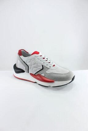 İnci Kadın Beyaz Hakiki Deri Spor Ayakkabı