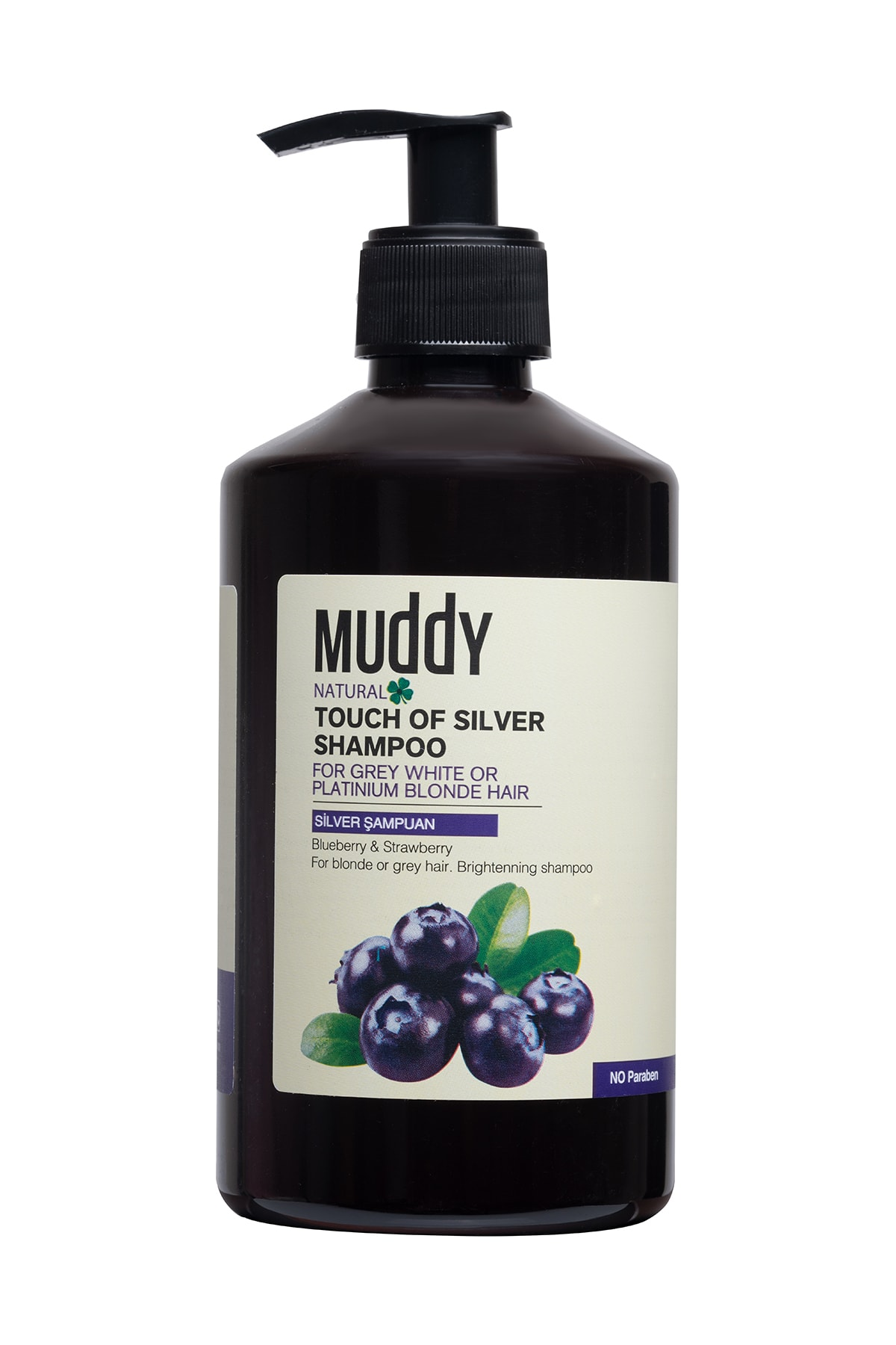Muddy Touch Of Silver Şampuan 500 ml 1