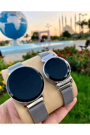 Spectrum Led Çift Kol Saatleri Sevgili Saati Dokunmatik Ekranlı Saat