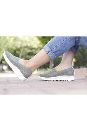 Gökcen Kadın Tekstil Dokuma Ortopedik Yazlık Ayakkabı