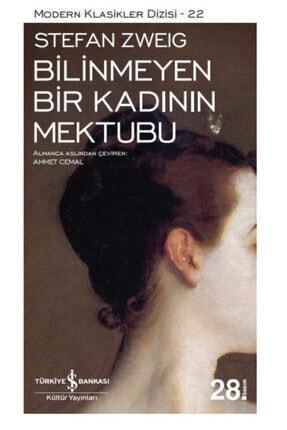 İş Bankası Kültür Yayınları Iş Bankası - Bilinmeyen Bir Kadının Mektubu / Stefan Zweig
