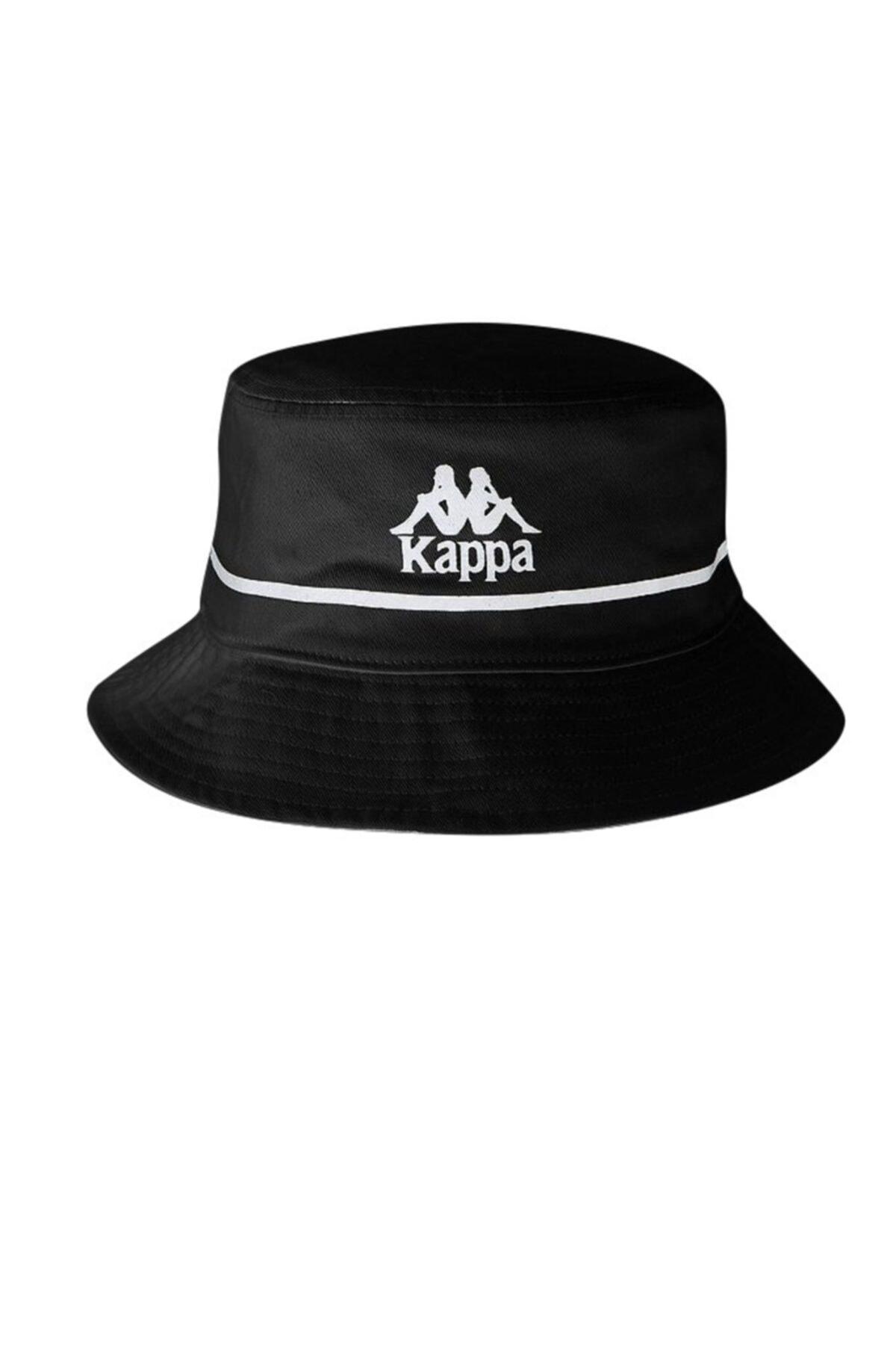 Kappa Erkek Siyah Buck Safari Şapka 1