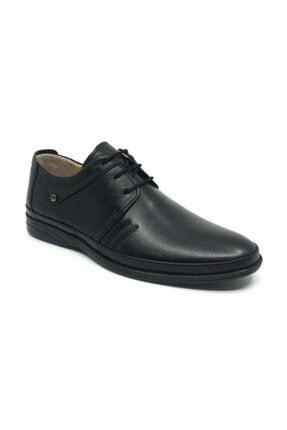 Taşpınar Erkek Siyah Ortopedik Günlük Yazlık Klasik Ayakkabı 40 44
