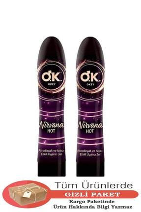 Okey Nirvana Afrodizyak Ve Isıtıcı Etkili Uyarıcı Jel - 100 ml X 2 Adet