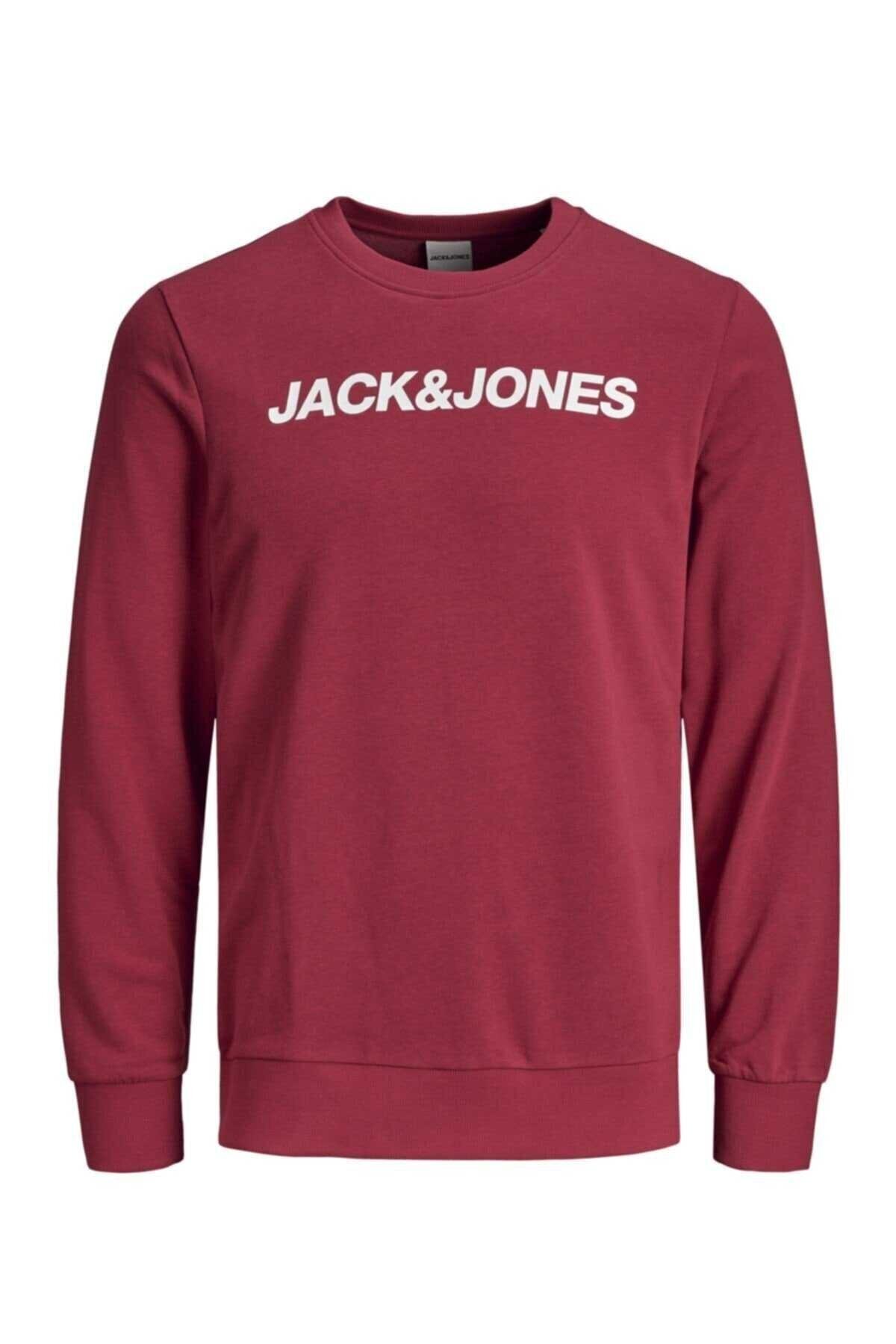 Jack & Jones Jack&jones Jcovıbe Sweat Crew Neck Erkek Sweat 121 1