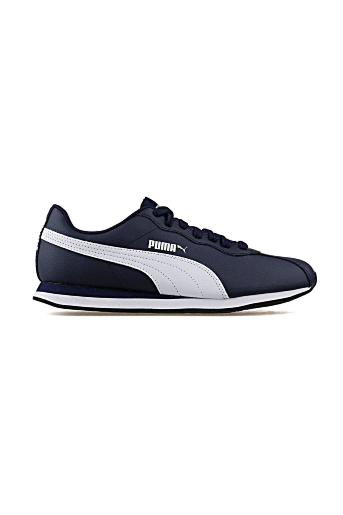 Puma Erkek Lacivert Beyaz Sneaker Ayakkabı 100352195 1