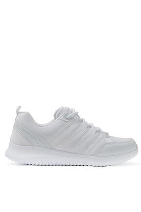 Slazenger ZINDER Sneaker Kadın Ayakkabı Beyaz SA11RK010