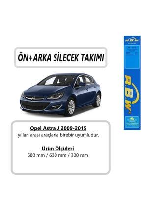 Inwells Opel Astra J Ön+arka Silecek Takımı 2009-2019