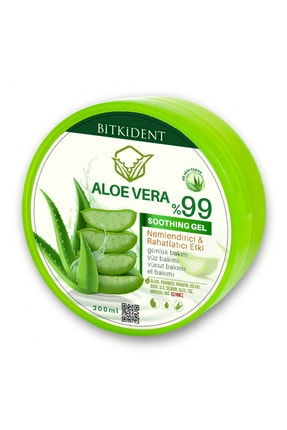 BİTKİDENT After Sun Aloe Vera %99 Ferahlatıcı Nemlendirici Jel 300 ml