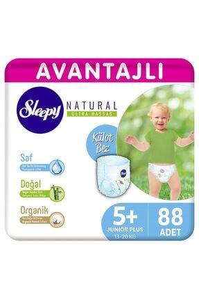Sleepy Natural Avantajlı Külot Bez 5+ Numara Junior Plus 88 Adet