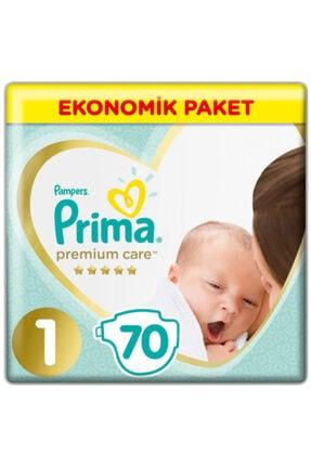 Prima Bebek Bezi Premium Care 1 Beden Yenidoğan Ekonomik Paket 2 5 Kg 70 Adet