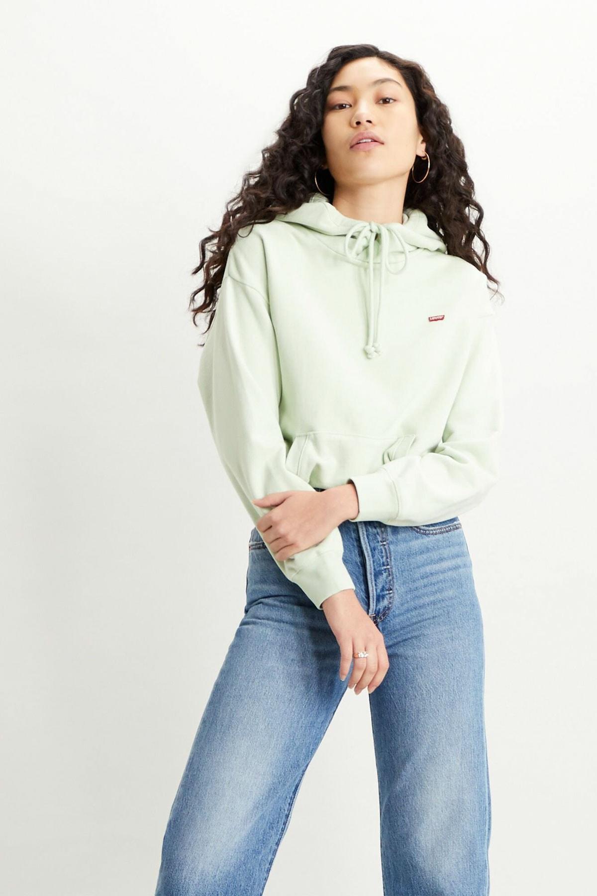 Levi's Women's Standard Hoodie Hooded Sweatshirt 1
