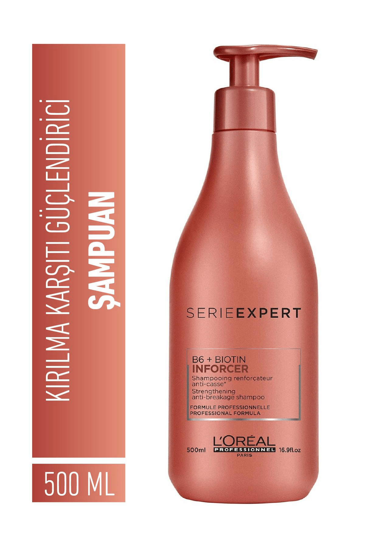 L'oreal Professionnel Serie Expert Inforcer Kırılma Karşıtı Güçlendirici Şampuan 500 ml