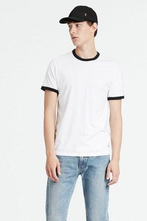 Levi's Erkek Beyaz Ringer T-Shirt 39969-0024