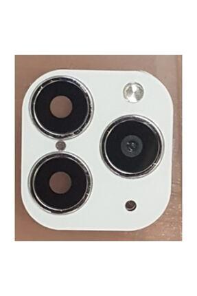 POLYGOLD Iphone X Xs Xr Telefonu 11 Pro Max Değiştiren Arka Kamera Lens Beyaz