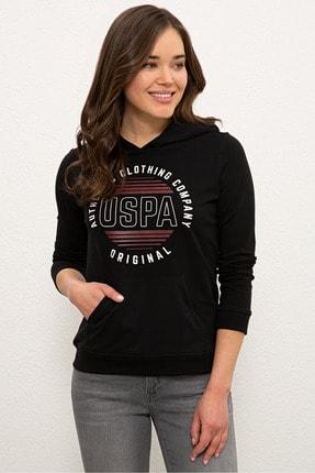 U.S. Polo Assn. Sıyah Kadın Sweatshirt G082SZ082.000.1210355